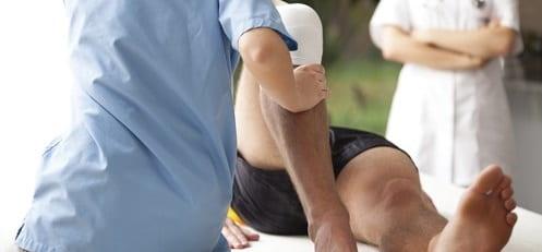 فیزیوتراپی برای درمان پا پرانتزی